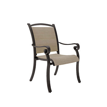 Bass Lake Outdoor Sling Chair Set of 4