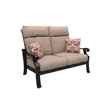 Chestnut Ridge Outdoor Loveseat with Cushion