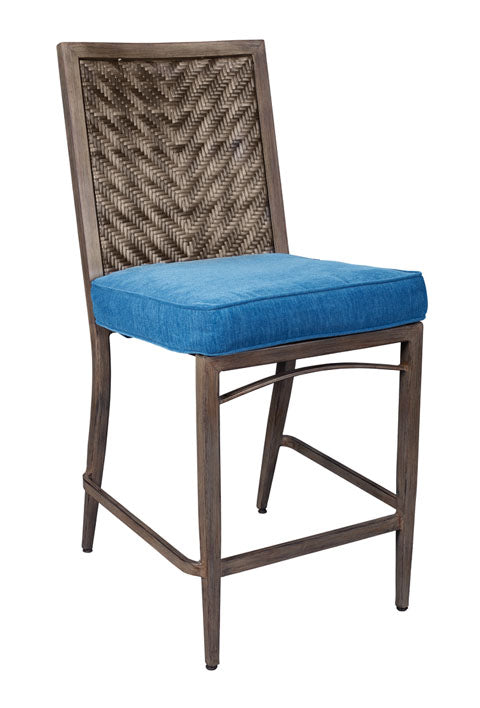 Partanna Outdoor Barstool Set of 4