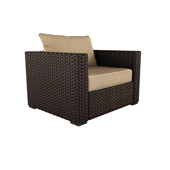 Spring Ridge Outdoor Lounge Chair with Cushion