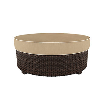 Spring Ridge Outdoor Ottoman with Cushion