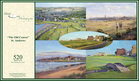 "St Andrews ""Old Course"" Jigsaw"