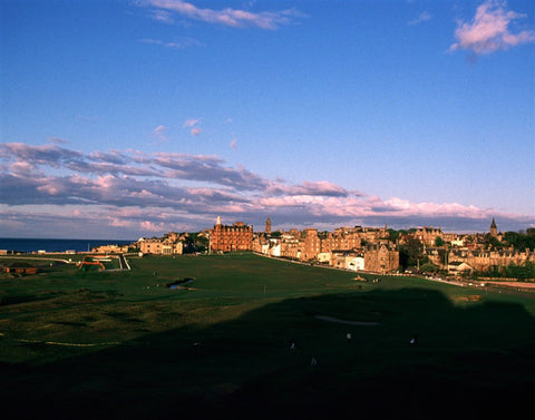 "17th & 18th holes ""Old Course"" St. Andrews"