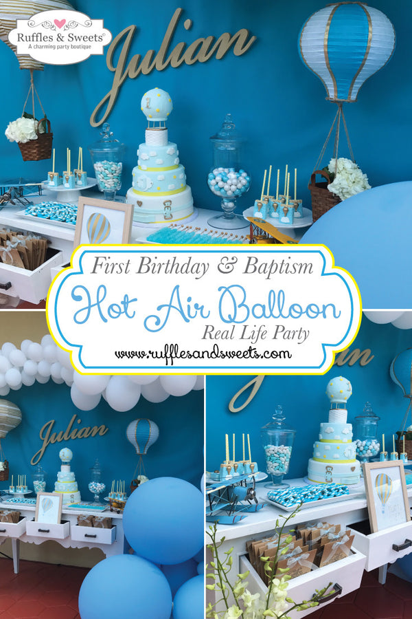 Hot Air Balloon First Birthday