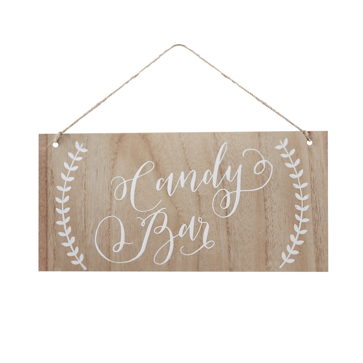 Candy Bar Wooden Sign