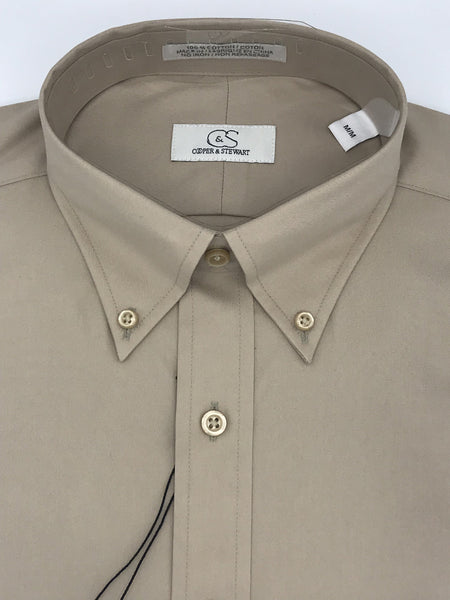 Cooper and Stewart Sport Shirt - 905010 Khaki