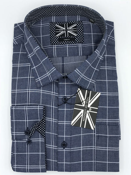 Soul of London Big and Tall Sport Shirt