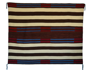 2nd Phase Navajo Chief Blanket : Lucie Marianito : Churro 1570 - Getzwiller's Nizhoni Ranch Gallery