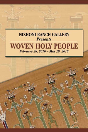 Book: Woven Holy People - Exhibit Catalog - Getzwiller's Nizhoni Ranch Gallery