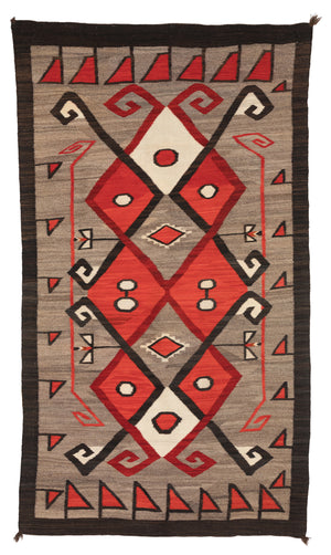 Crystal JB Moore Navajo Weaving : Historic : PC 115 - Getzwiller's Nizhoni Ranch Gallery