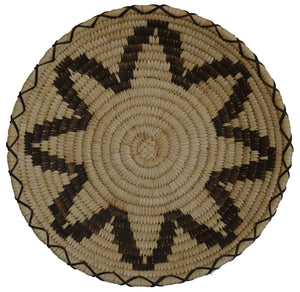 Native American Basket : Papago Wicker : Basket # 30 - Getzwiller's Nizhoni Ranch Gallery