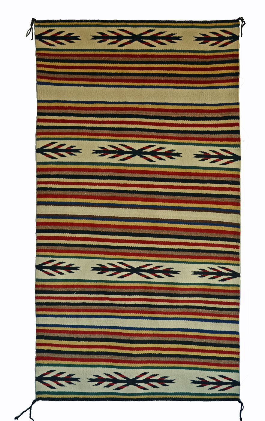 Navajo Saddle Blanket - Double : Nizhoni Ranch Gallery : SG 37 - Getzwiller's Nizhoni Ranch Gallery