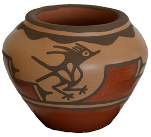 Native American Zia Pueblo Pot : small pot :  Ruby Panana: rp 28 - Getzwiller's Nizhoni Ranch Gallery