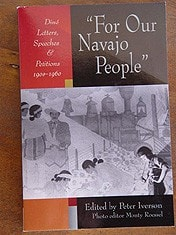 Book:  For Our Navajo People - Getzwiller's Nizhoni Ranch Gallery