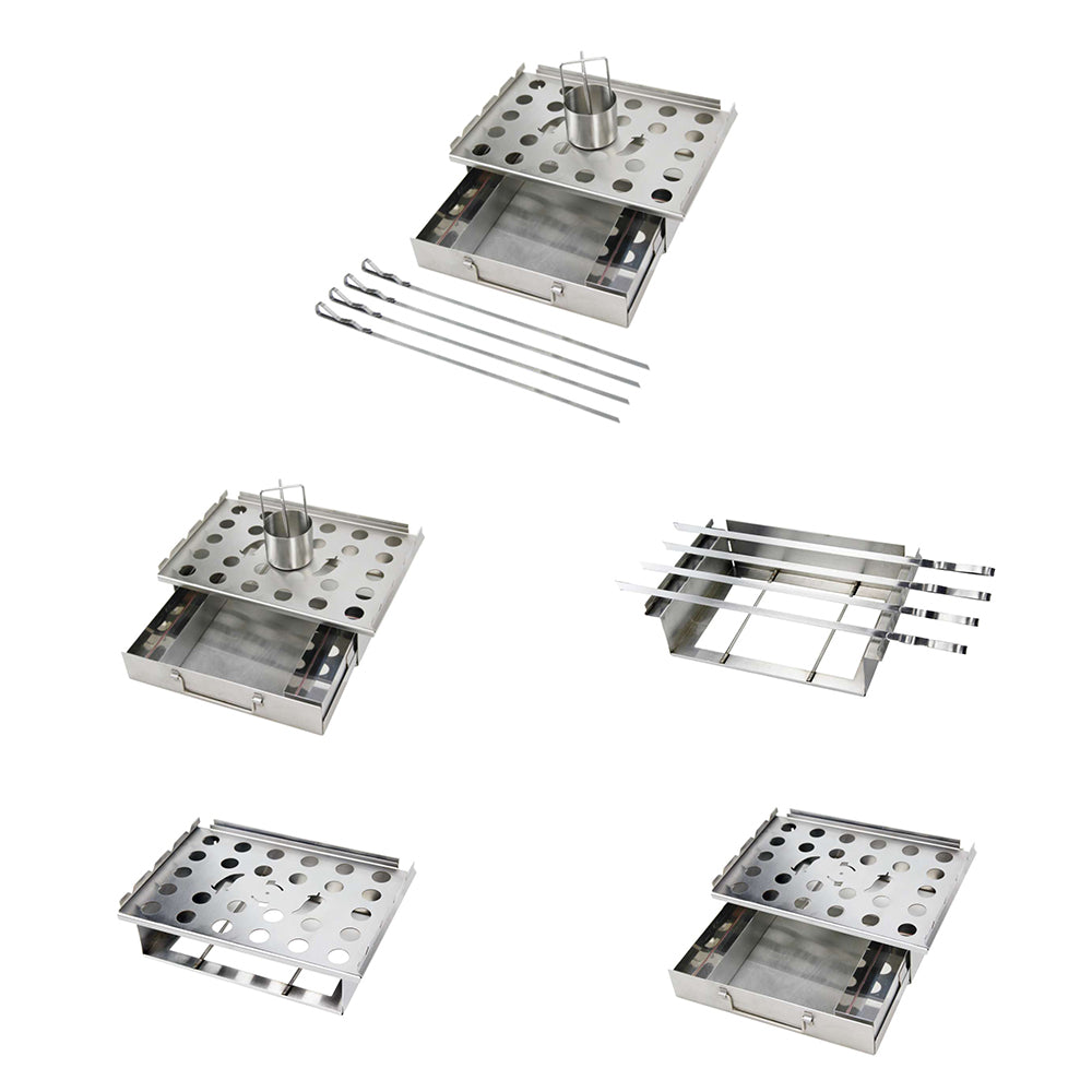 --5 in One Multi-Functional BBQ Grill Topper--