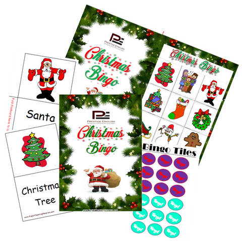 BINGO - Christmas Bingo | FREE - Download