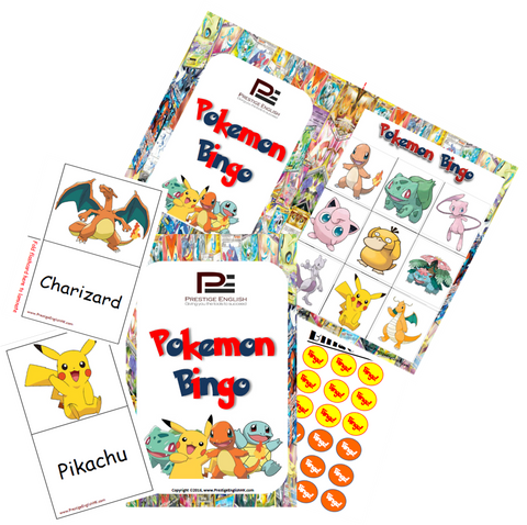 BINGO - Pokemon Bingo - Download