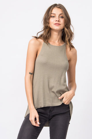 Cold-Shoulder Top Jade