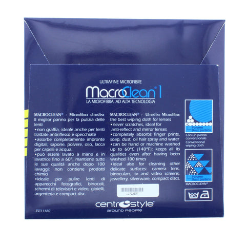 Macroclean1 Evolution Rubber-dotted Cloth - Eyecare-Shop - 2