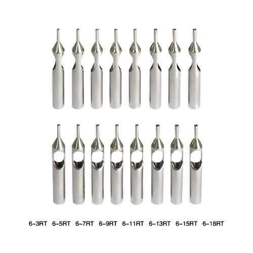Stainless Steel Open Round Tips