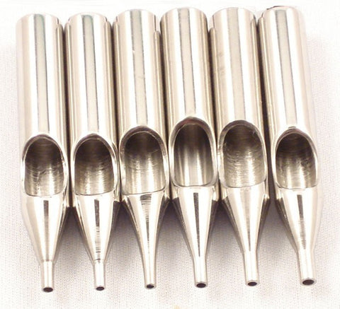 Stainless Steel Round Tips