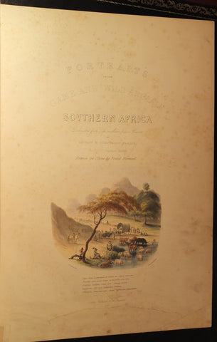 Captain W. Cornwallis Harris (1807-1848), Portraits of the Game and Wild Animals of Southern Africa