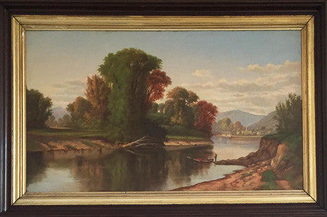Robert S. Duncanson (1821-1872), Ohio River Valley Landscape