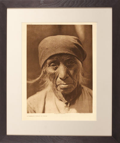 Edward Curtis (1868-1952), Pl 512 Serrano Woman of Tejon