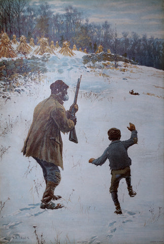 Arthur Burdett Frost (American, 1851-1928), We've Got Him