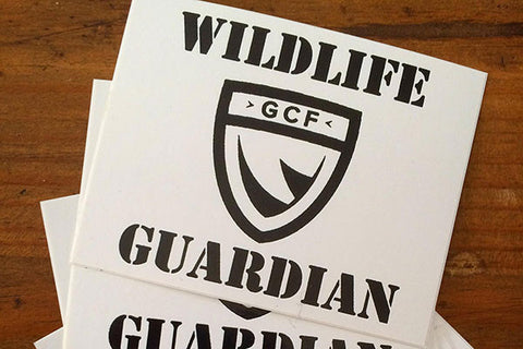 """Wildlife Guardian"" Stickers (5 Pack)"