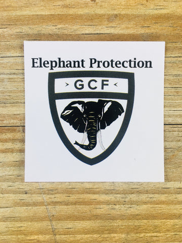 Elephant Protection - Sticker