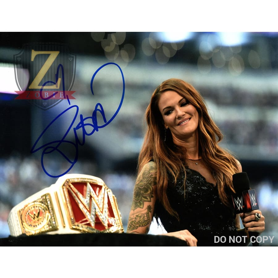 Lita Authentic Autograph 11X14 Photo Wwe Picture Signed Coa Nxt Raw Hof 2