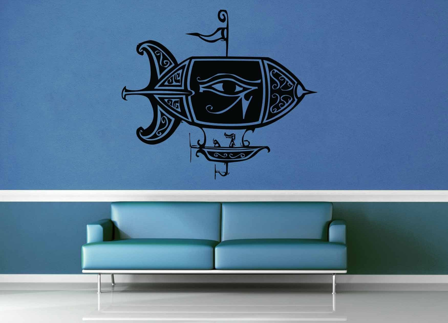 Airship - Steampunk - Wall Decal