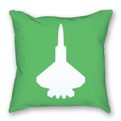 Pillow - Fighter Jet Bright Airplane Pillow