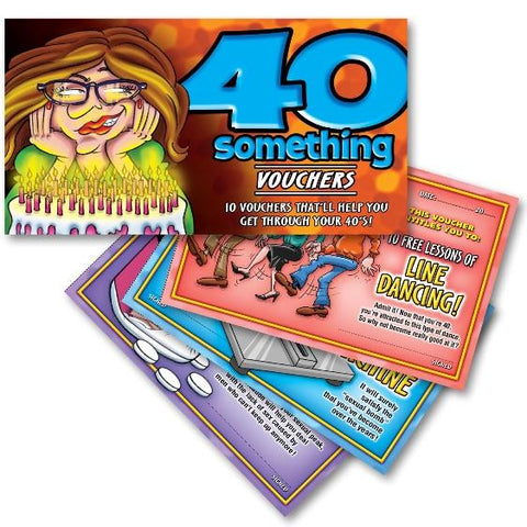 40 Something Vouchers For Her 10 Hilarious Vouchers That'll Help You Get Through Your 40's