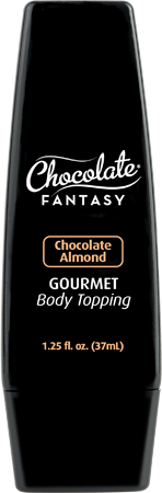 Chocolate Fantasy Gourmet Body Topping 37ml Chocolate Almond