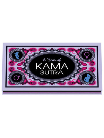 A Year of Kama Sutra Tip Cards to Share with Your Lover