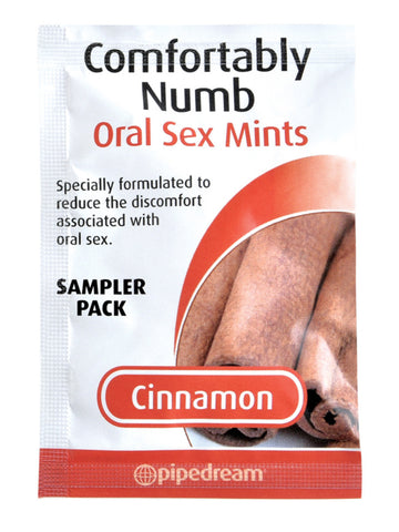 Comfortably Numb Oral Sex Mints Sampler Pack Cinnamon