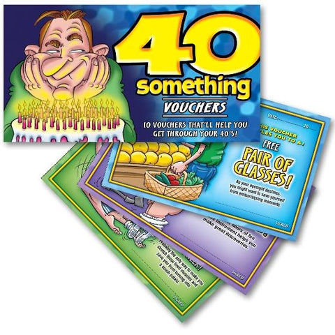 40 Something Vouchers For Him 10 Hilarious Vouchers That'll Help You Get Through Your 40's