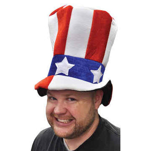 American Flag Top Hat