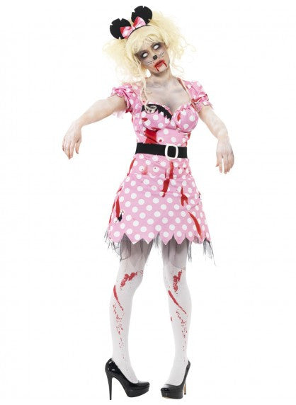 Zombie Minnie Mouse Costume
