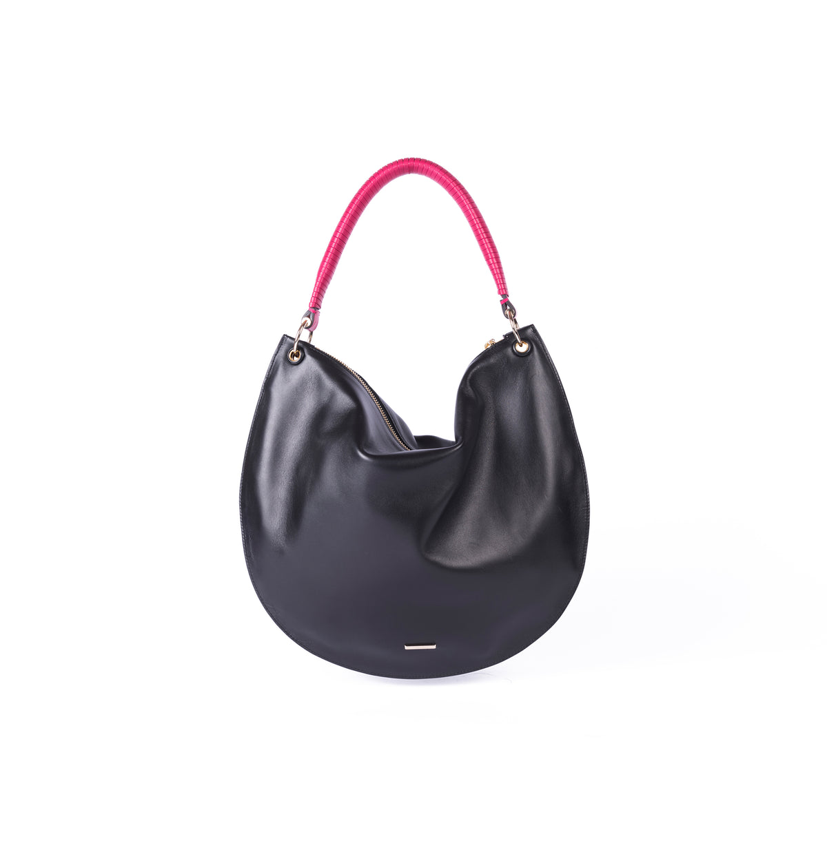 LUNA HOBO BAG BLACK
