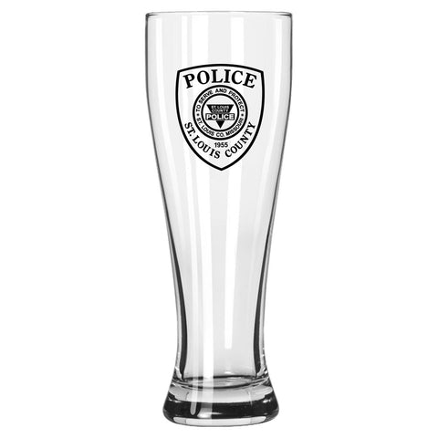 Item # CDW-011<BR>St. Louis County P.D. Pilsner Glass