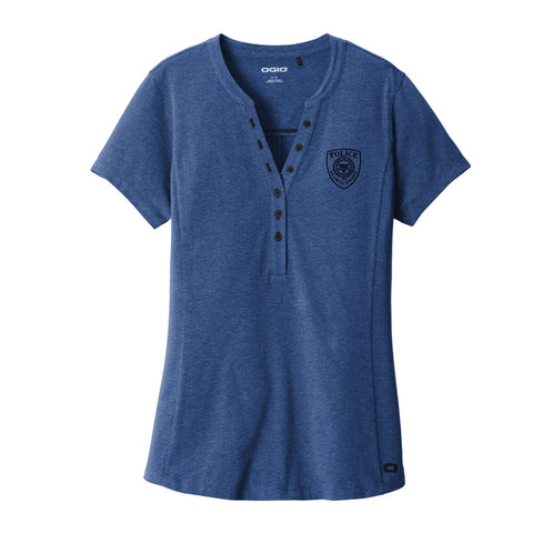 SLCPD OGIO ® Ladies Tread Henley