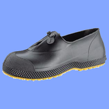 11003M - MEDIUM BLACK PVC OVERSHOES