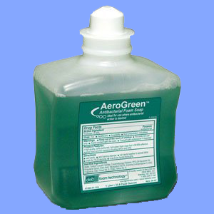 DEB011 - AEROGREEN<sup>&trade;</sup> ANTIBACTERIAL FOAMING LOTION SOAP