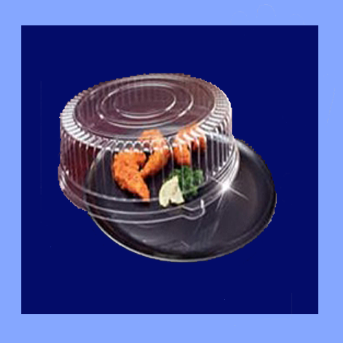 "EMI-260CPB - 16"" ROUND TRAY AND DOME LID COMBO PACKS"