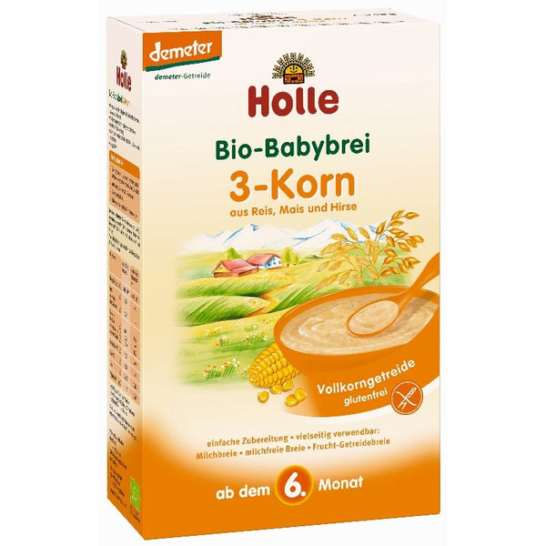 Holle 3-Grain Porridge
