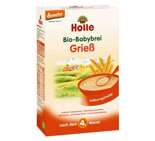 Holle Semolina Porridge