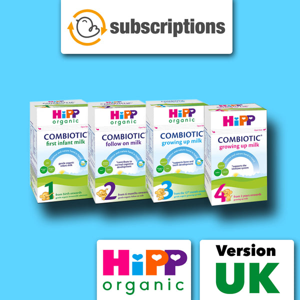HiPP UK Organic Baby Formula Subscription Service